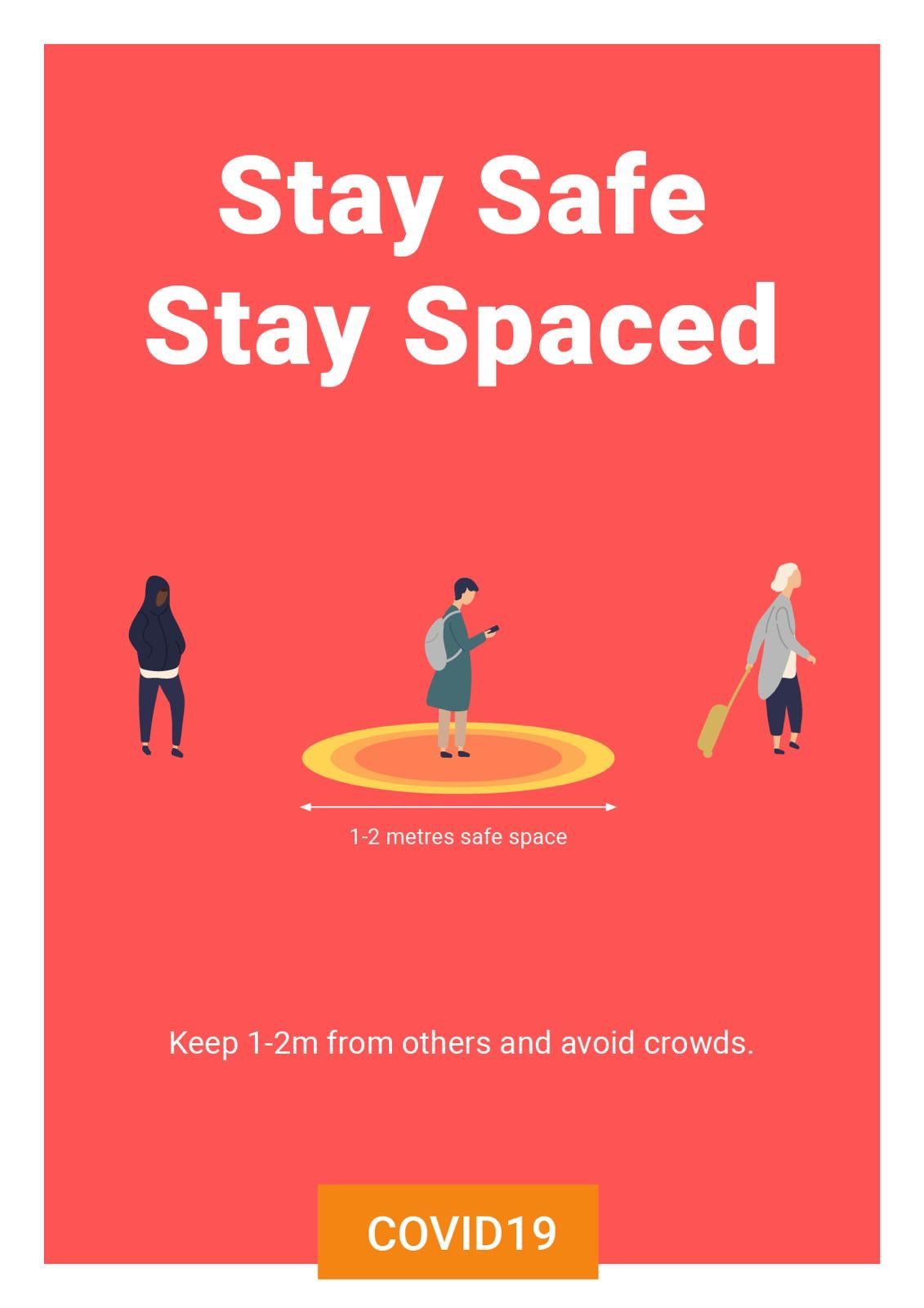 stay safe stay spaced